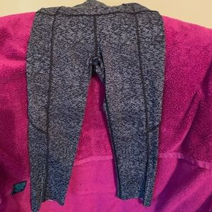 EUC Lululemon Fast and Free Crops